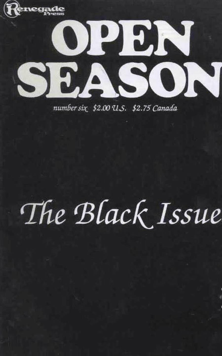 Open Season (1986) #6