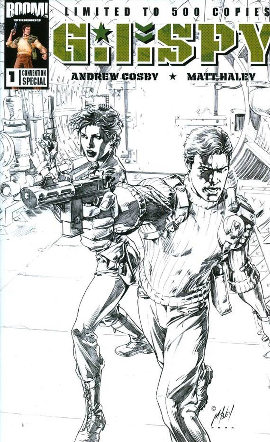 GI Spy #1 Cover C Convention Special