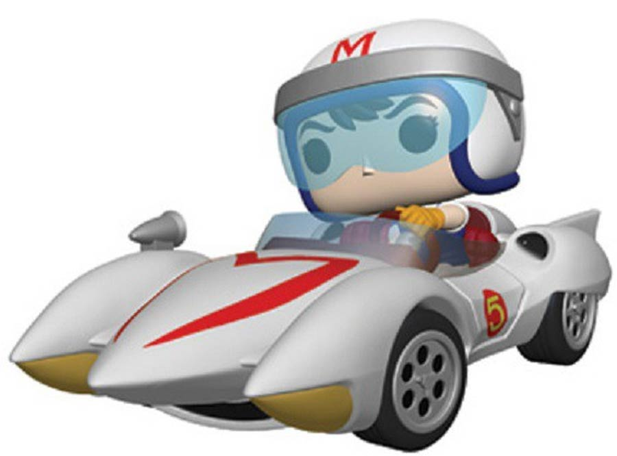 POP Rides Speed Racer Speed With Mach 5 Vinyl Figure