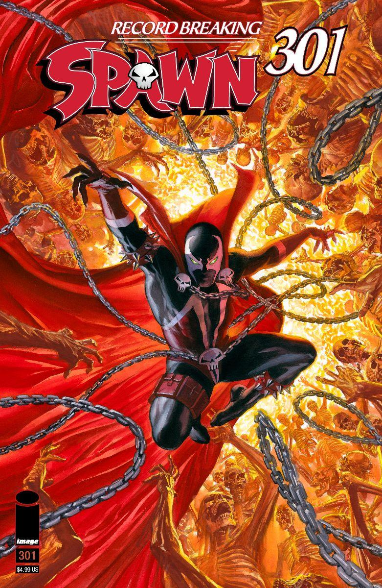 Spawn #301 Cover K Variant Alex Ross Cover