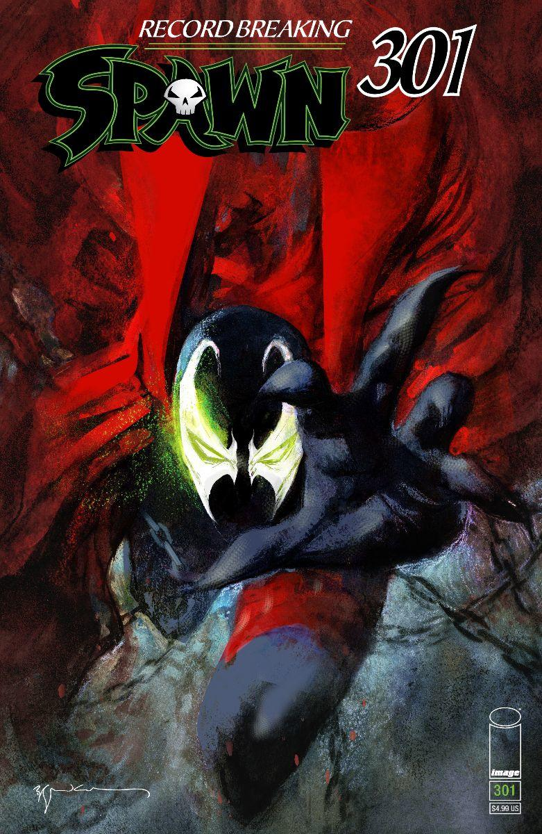 Spawn #301 Cover M Variant Bill Sienkiewicz Cover