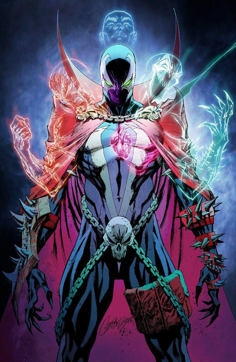 Spawn #301 Cover P Variant J Scott Campbell Virgin Cover