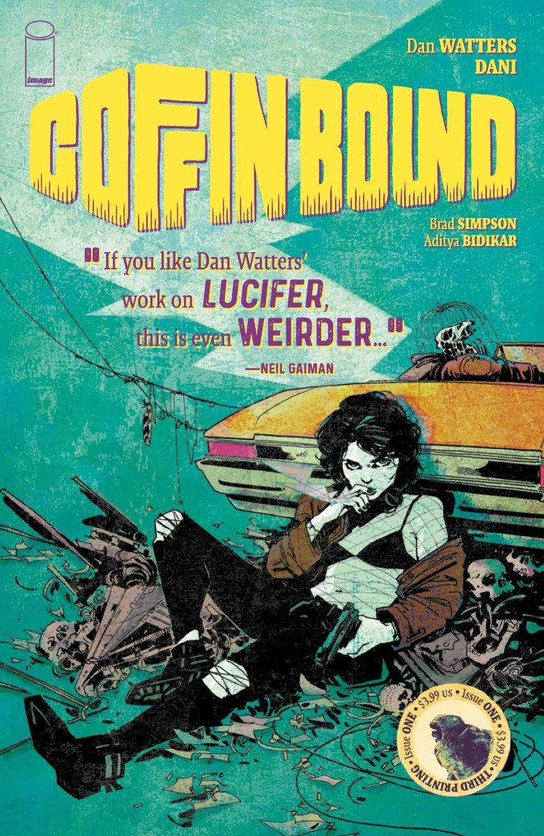 Coffin Bound #1 Cover C 3rd Ptg Variant Dani Cover