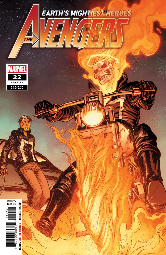 Avengers Vol 7 #22 Cover C 2nd Ptg Variant Stefano Caselli Cover