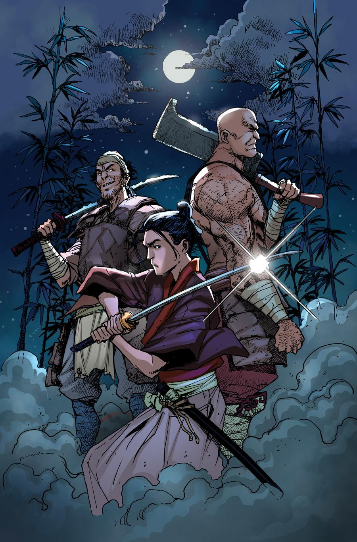 Ronin Island #6 Cover C Variant Takeshi Miyazawa Cover