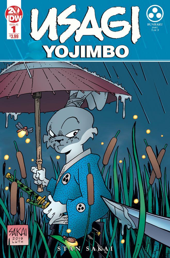 Usagi Yojimbo Vol 4 #1 Cover E 2nd Ptg Variant Stan Sakai Cover