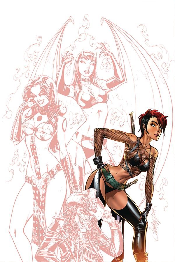 Chastity Vol 2 #1 Cover H Incentive J Scott Campbell Carve Out Virgin Variant Cover