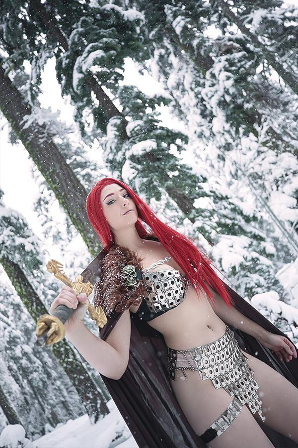 Red Sonja Vol 8 #8 Cover I Incentive Cosplay Photo Virgin Cover