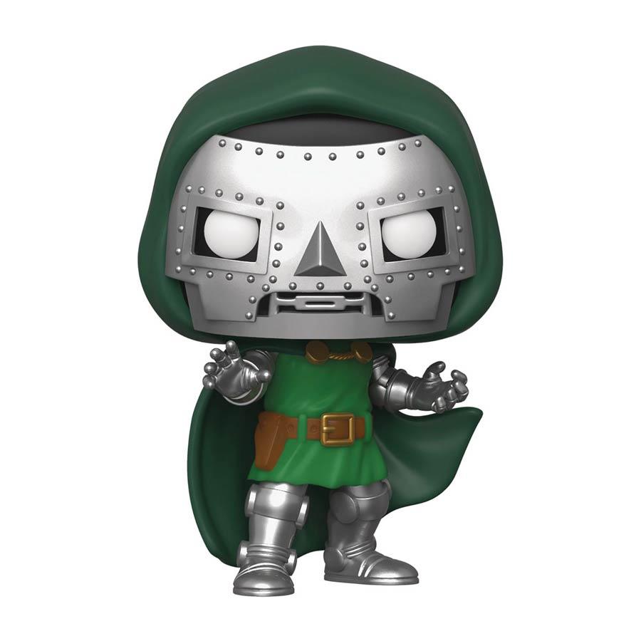 POP Marvel Fantastic Four Doctor Doom Vinyl Bobble Head