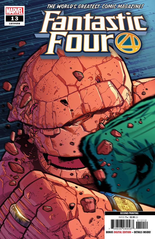 Fantastic Four Vol 6 #13 Cover D 2nd Ptg Variant Sean Izaakse Cover
