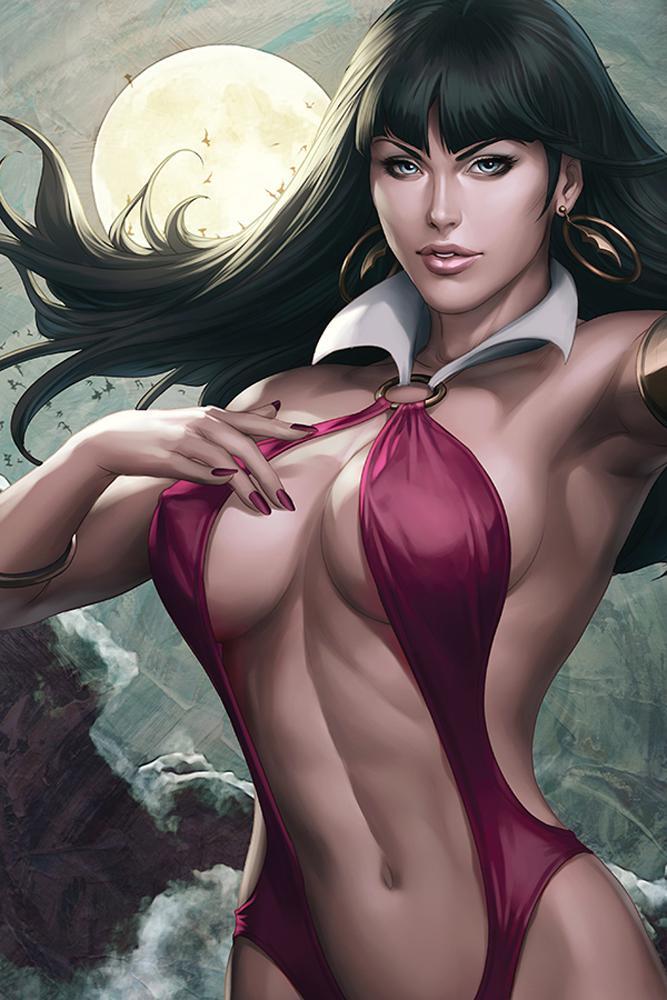 Vampirella Vol 8 #3 Cover L Incentive Stanley Artgerm Lau Sneak Peek Virgin Cover