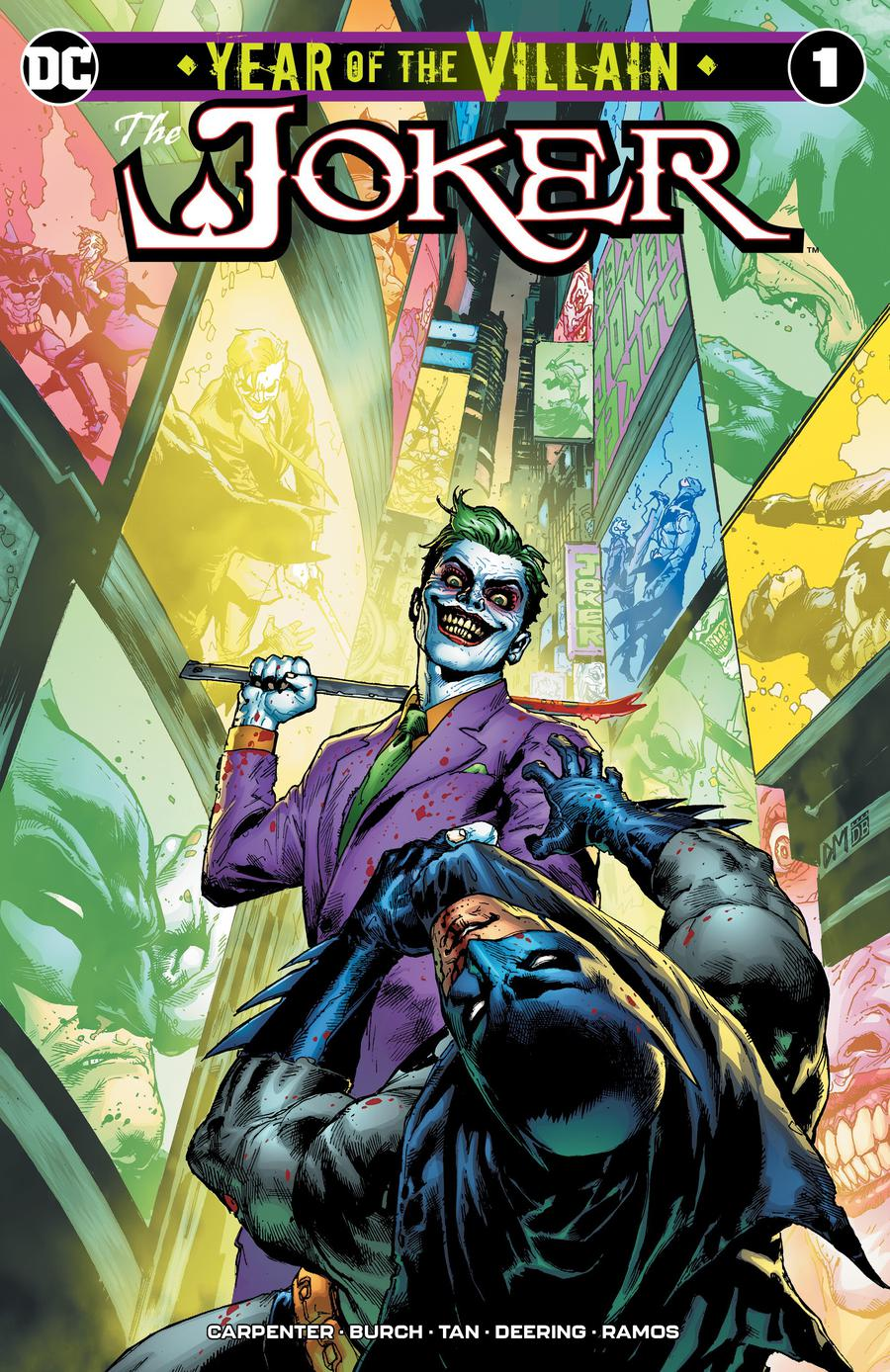 Joker Year Of The Villain #1  Midtown Exclusive Doug Mahnke Variant Cover