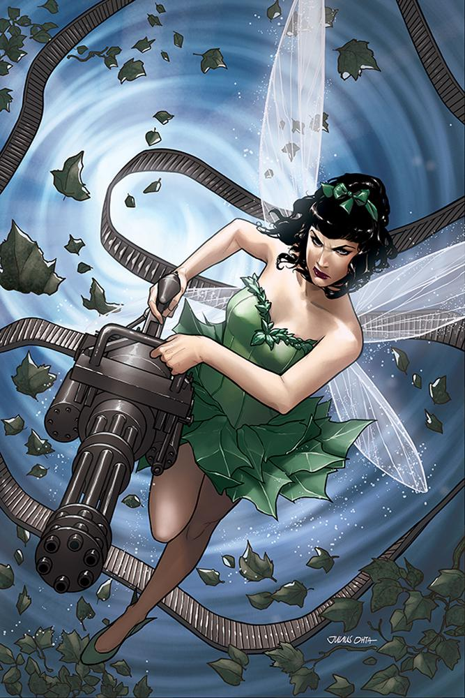Bettie Page Unbound #4 Cover G Incentive Julius Ohta Virgin Cover