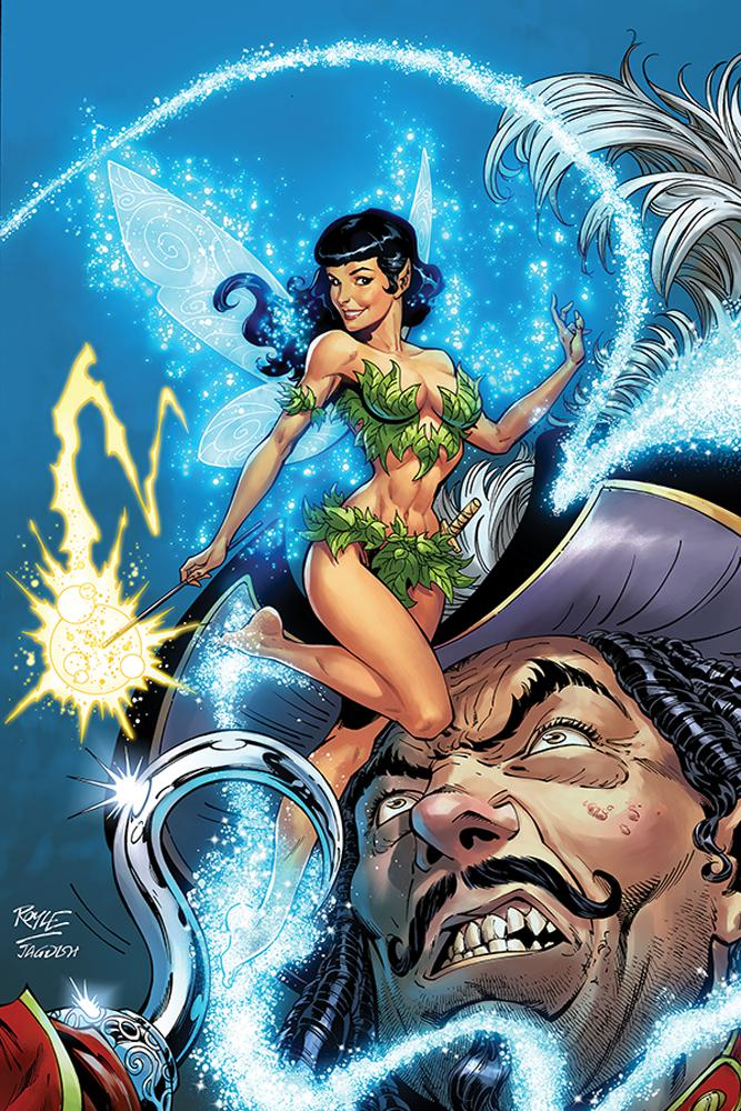 Bettie Page Unbound #4 Cover J Incentive John Royle Virgin Cover