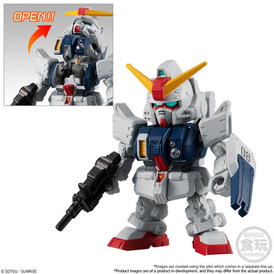 Bandai Gundam Micro Wars 2 GM AVEC BAZOOKA figure nouvelle collection