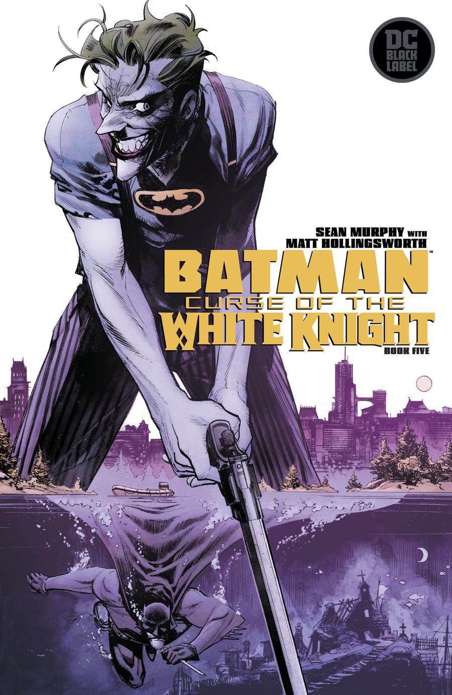 Batman Curse Of The White Knight #5 Cover A Regular Sean Murphy Cover