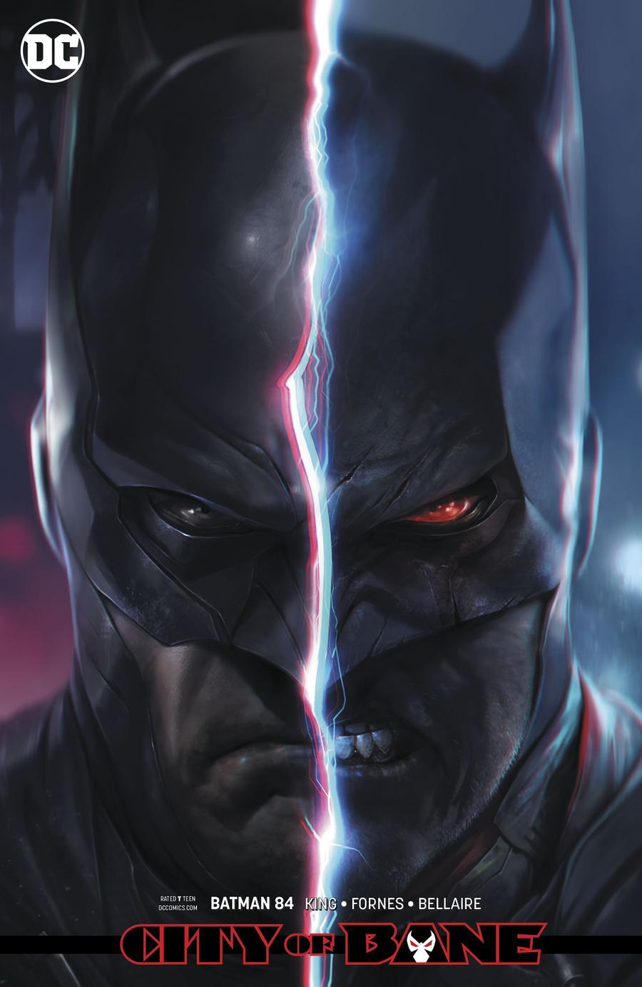 Batman Vol 3 #84 Cover B Variant Francesco Mattina Card Stock Cover