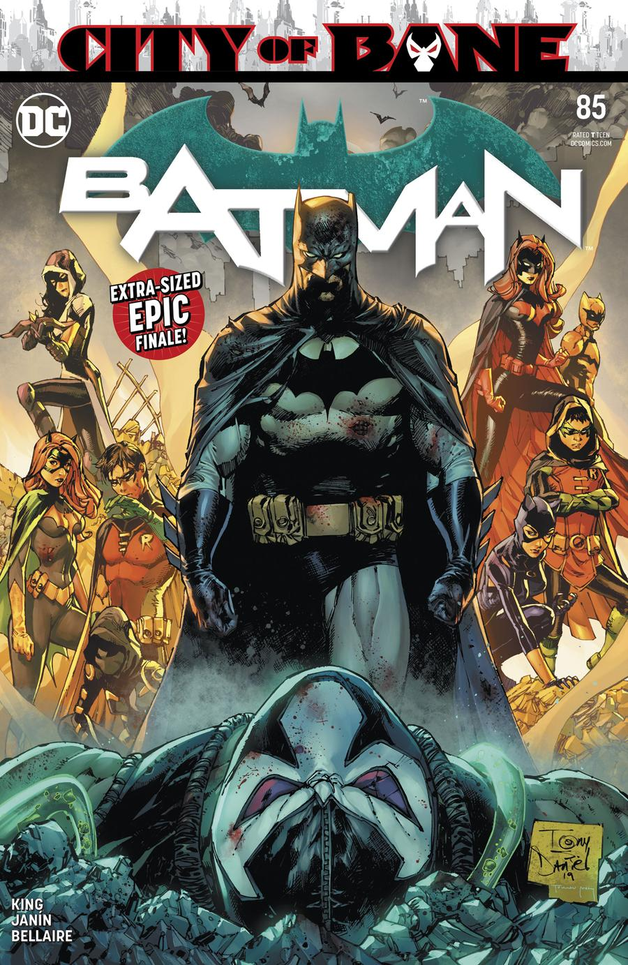 Batman Vol 3 #85 Cover A Regular Tony S Daniel Cover