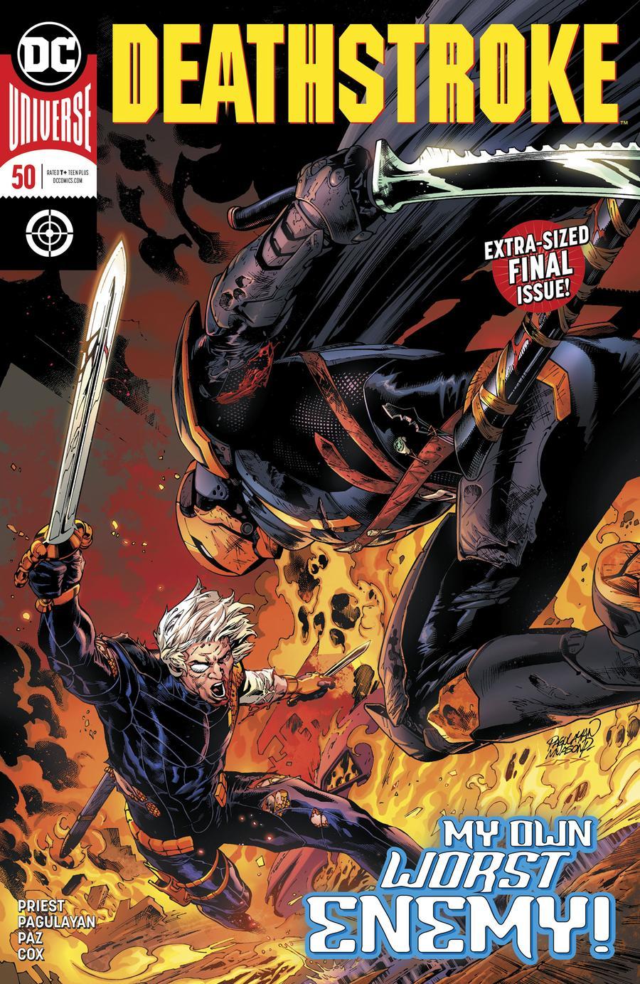 Deathstroke Vol 4 #50 Cover A Regular Carlo Pagulayan & Jason Paz Cover