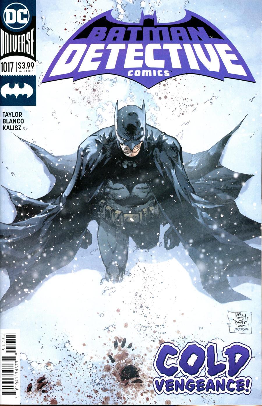 Detective Comics Vol 2 #1017 Cover A Regular Tony S Daniel Cover