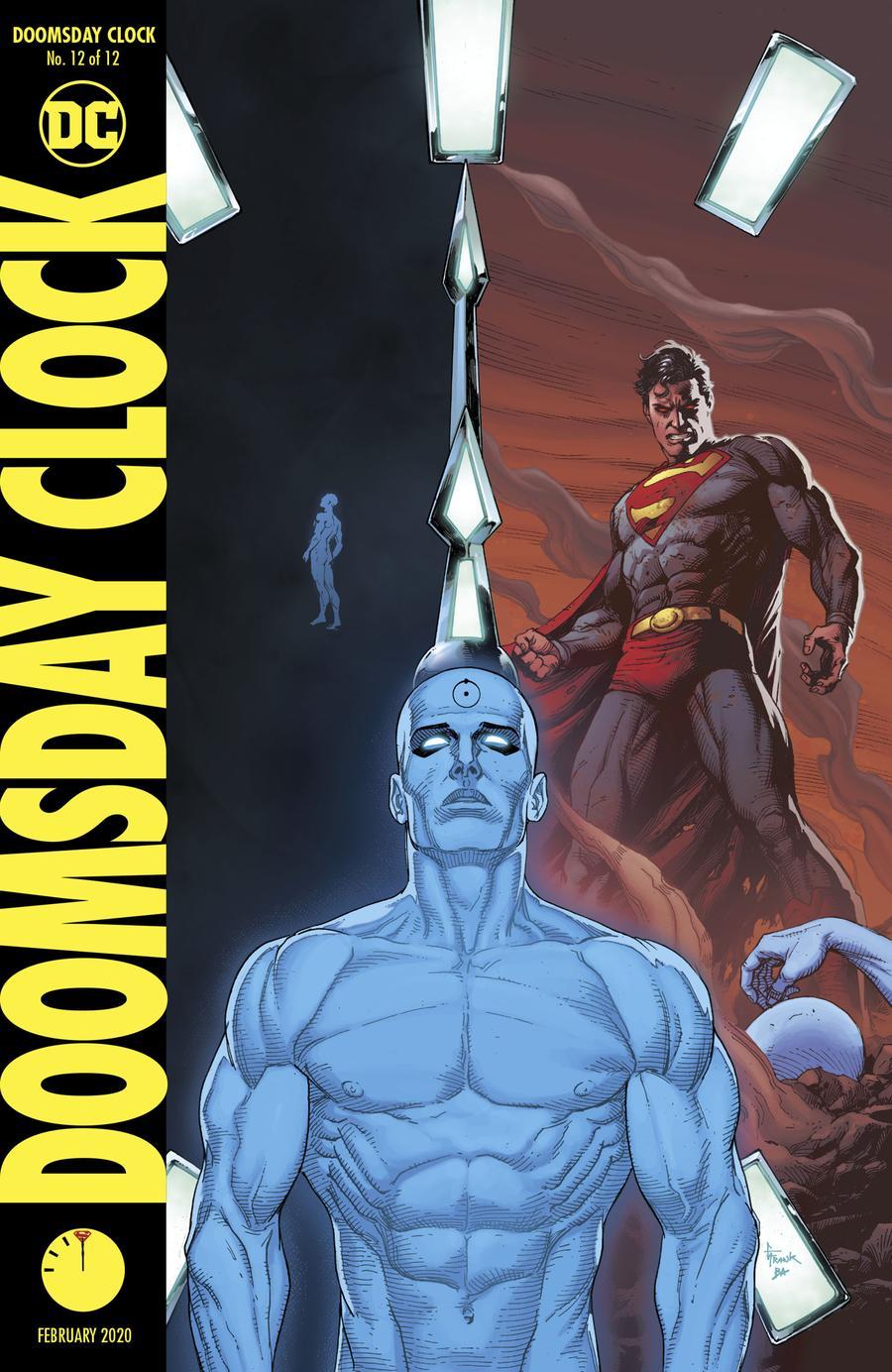 Doomsday Clock 12 Cover B Variant Gary Frank Cover Midtown Comics