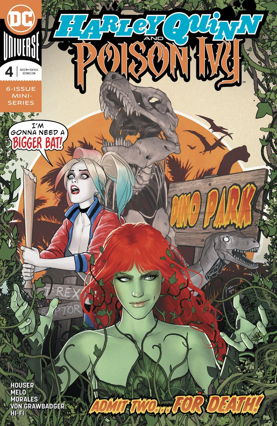 Harley Quinn And Poison Ivy #4 Cover A Regular Mikel Janin Cover