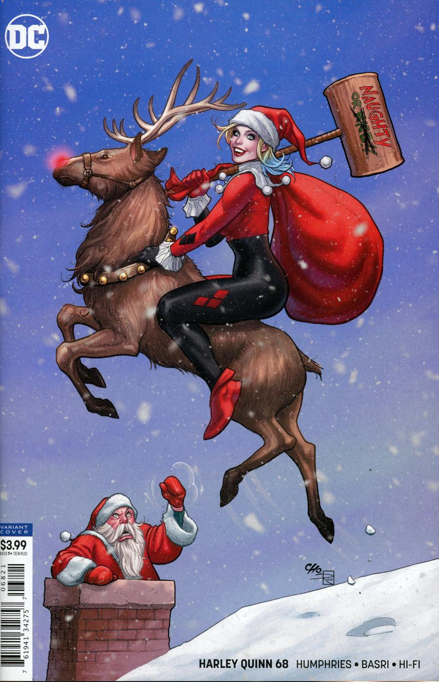 Harley Quinn Vol 3 #68 Cover B Variant Frank Cho Cover