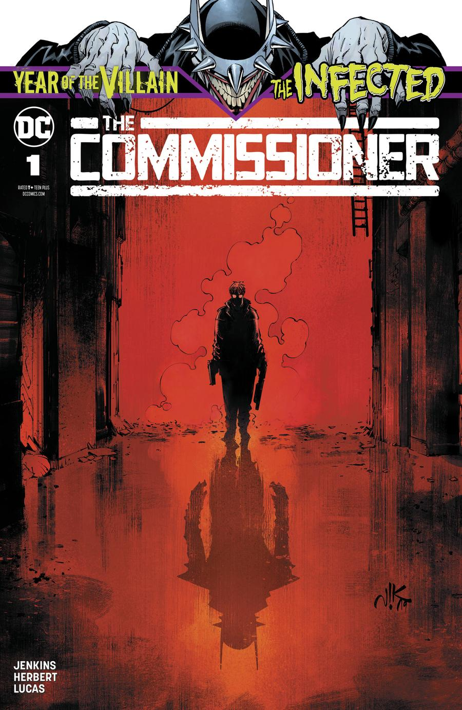 Infected The Commissioner #1