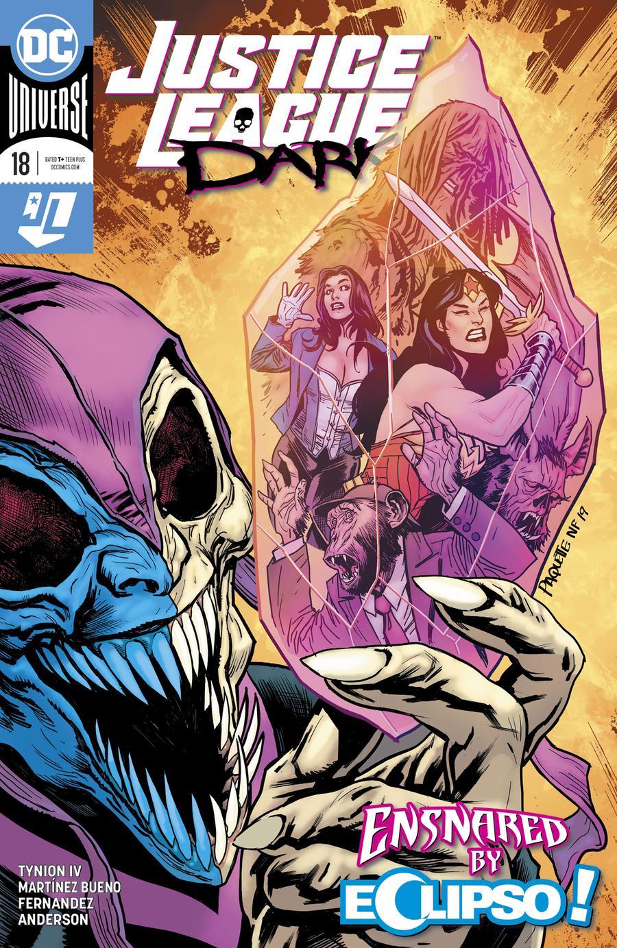 Justice League Dark Vol 2 #18 Cover A Regular Yanick Paquette Cover