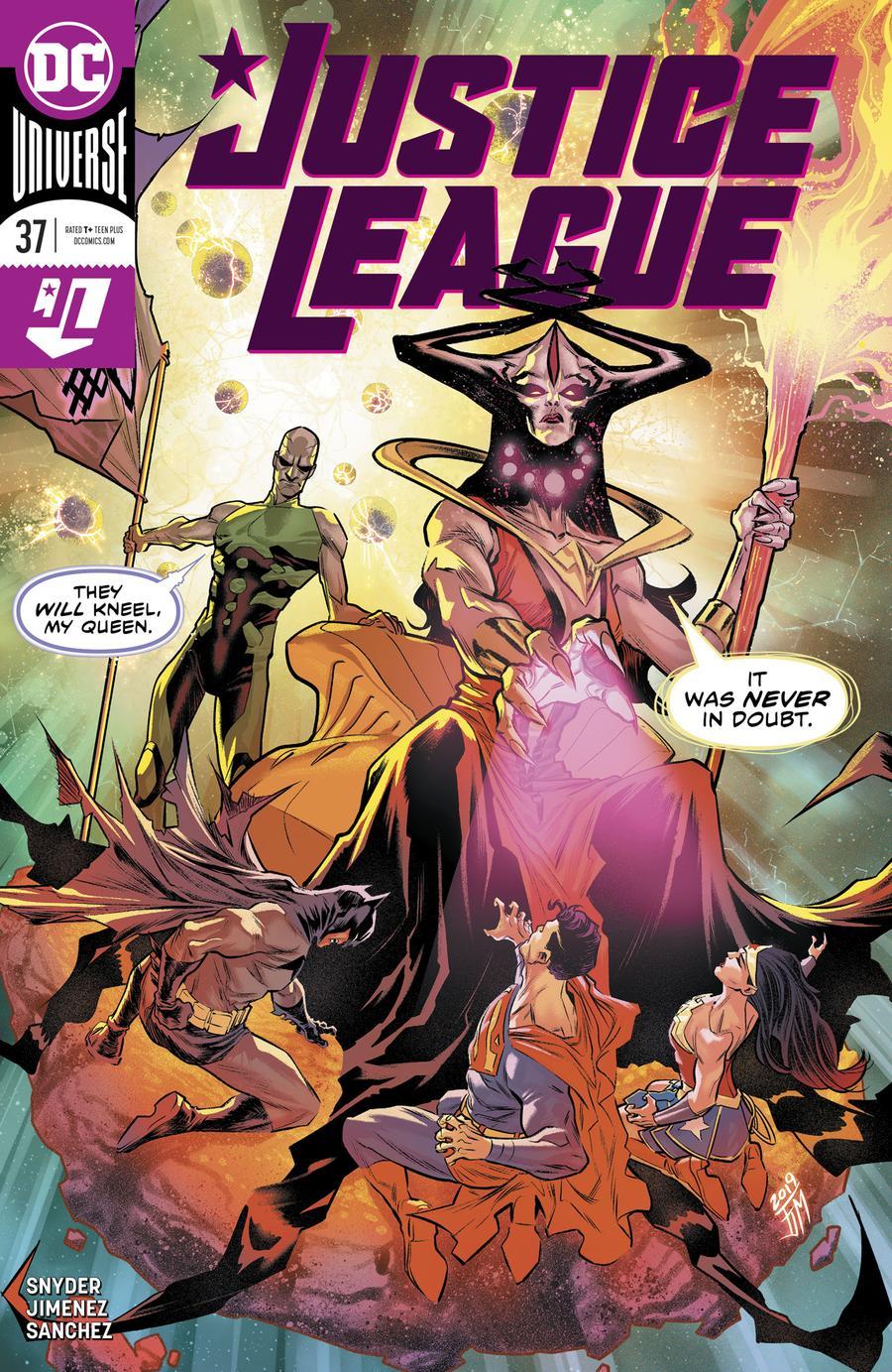 Justice League Vol 4 #37 Cover A Regular Francis Manapul Cover
