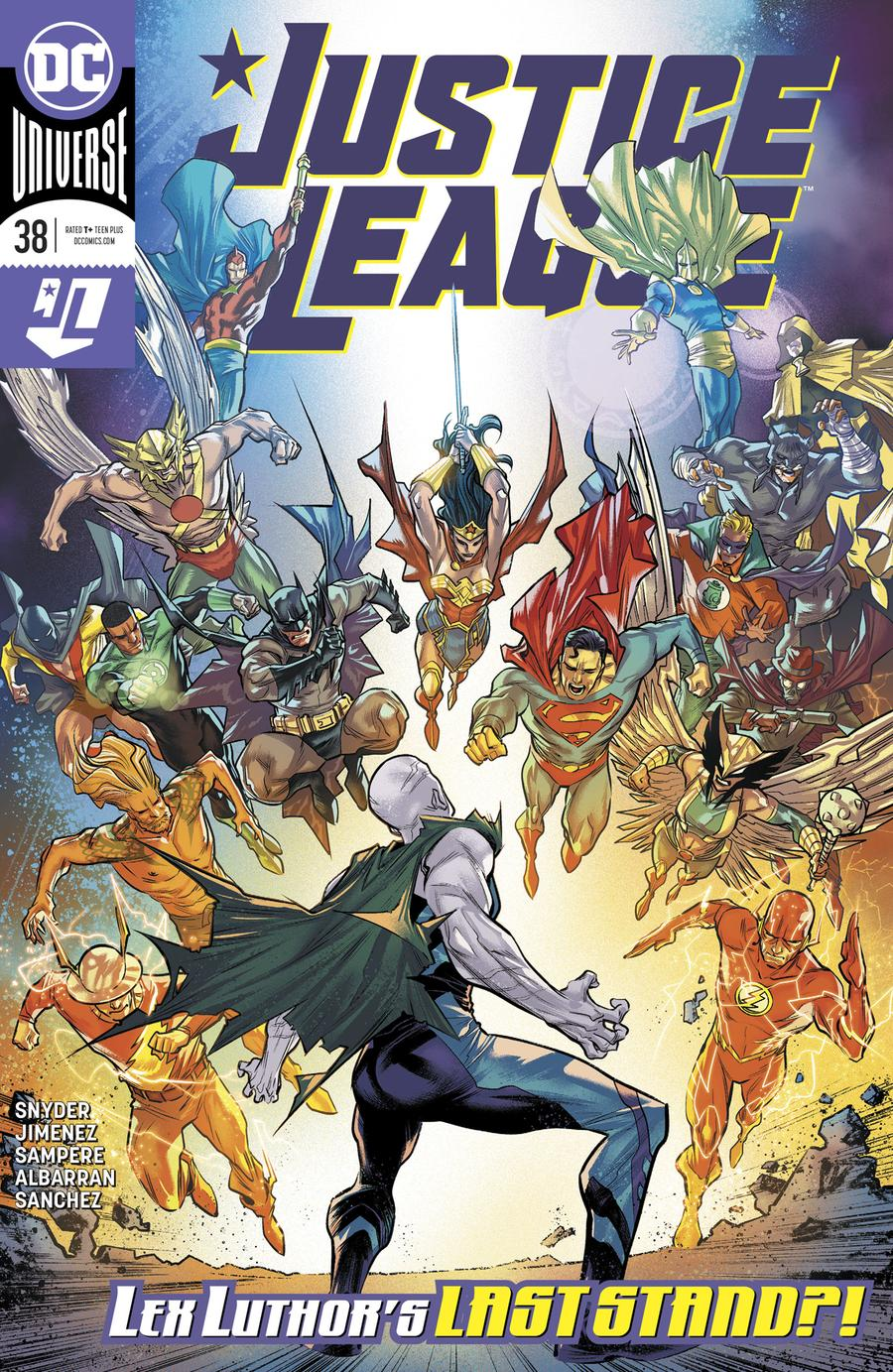 Justice League Vol 4 #38 Cover A Regular Francis Manapul Cover (Year Of The Villain Hell Arisen Prelude)