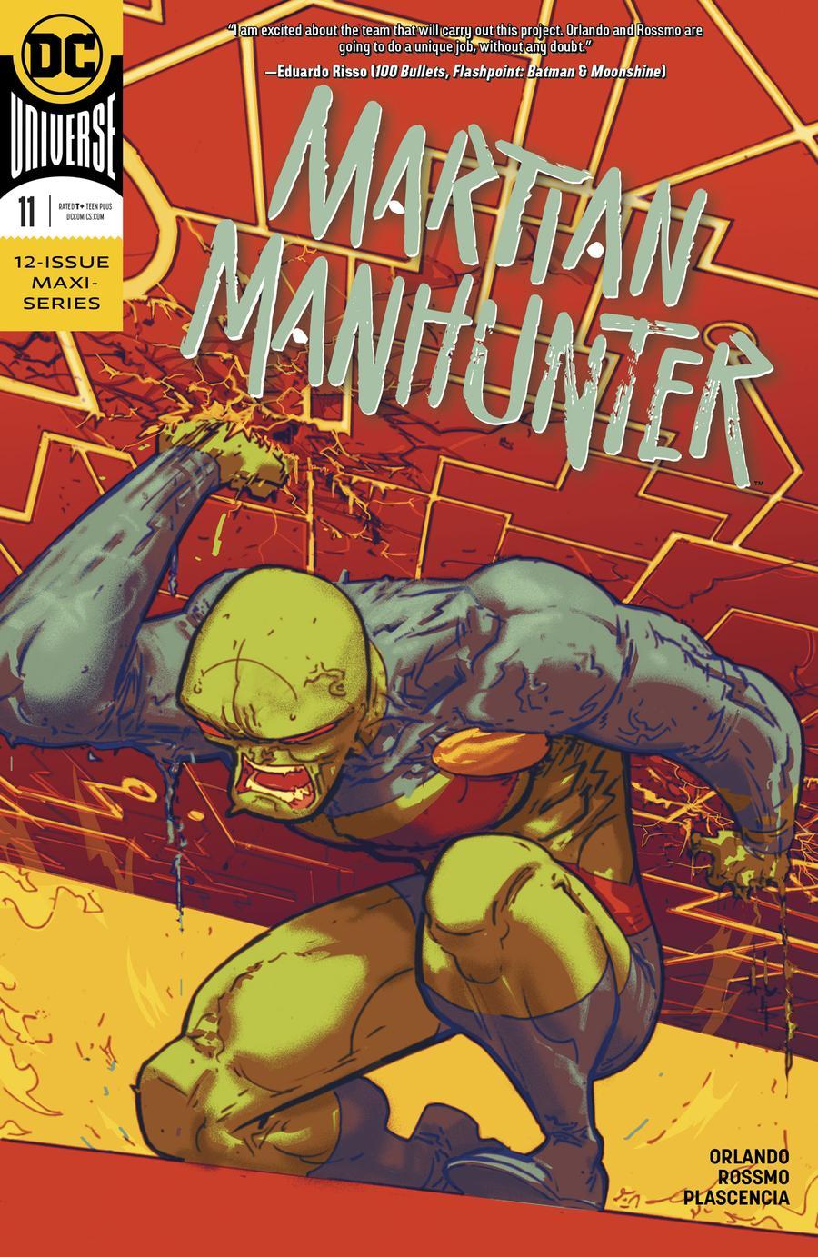 Martian Manhunter Vol 5 #11 Cover A Regular Riley Rossmo Cover