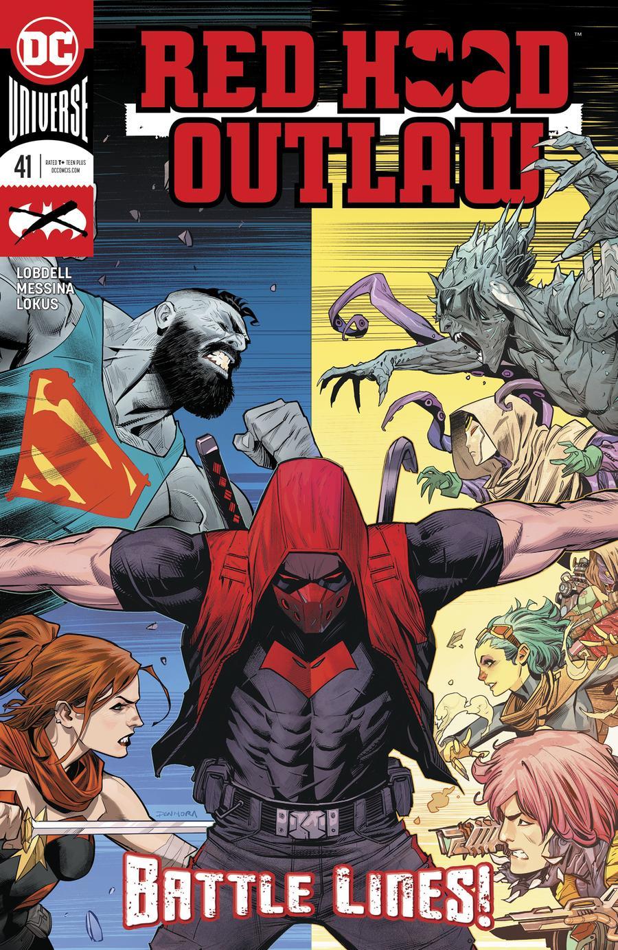 Red Hood Outlaw #41 Cover A Regular Dan Mora Cover