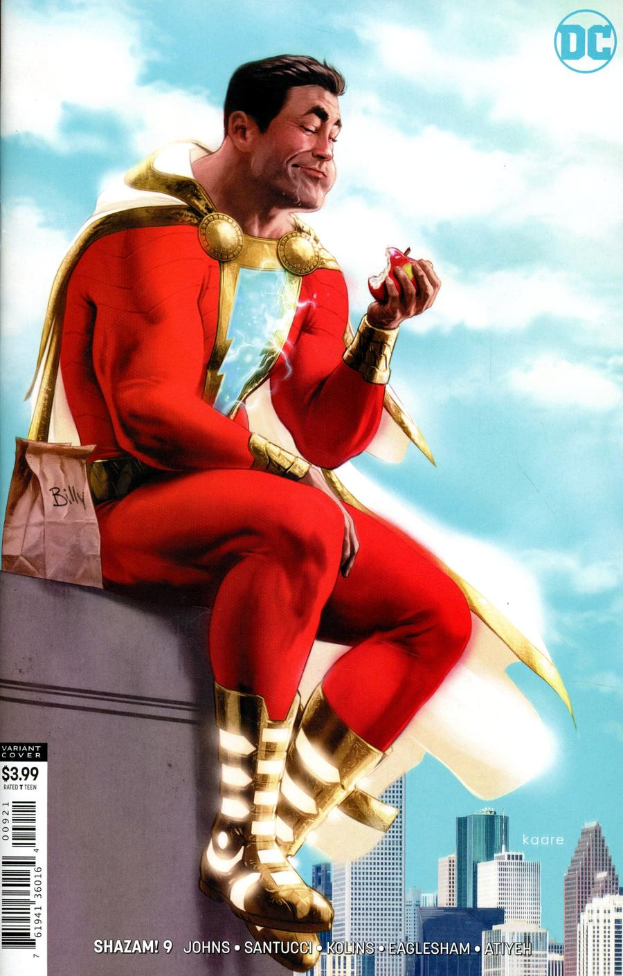 SHAZAM Vol 2 #9 Cover B Variant Kaare Andrews Cover