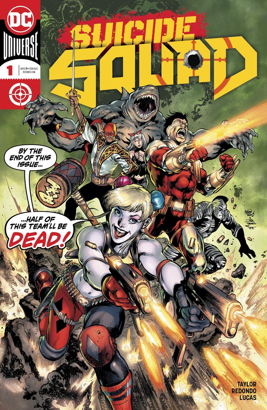Suicide Squad Vol 5 #1 Cover A Regular Ivan Reis & Joe Prado Cover