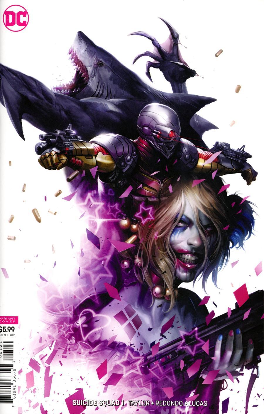 Suicide Squad Vol 5 #1 Cover B Variant Francesco Mattina Card Stock Cover