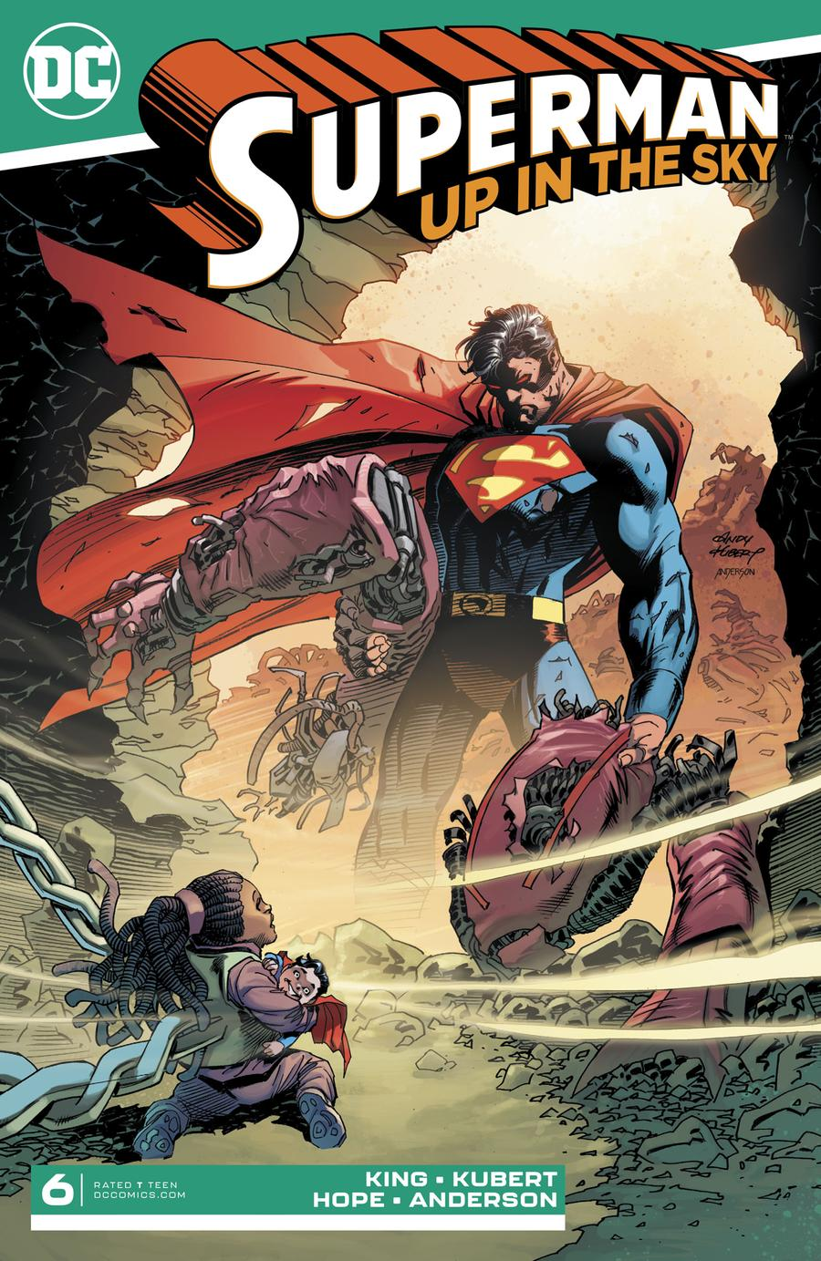 Superman Up In The Sky #6