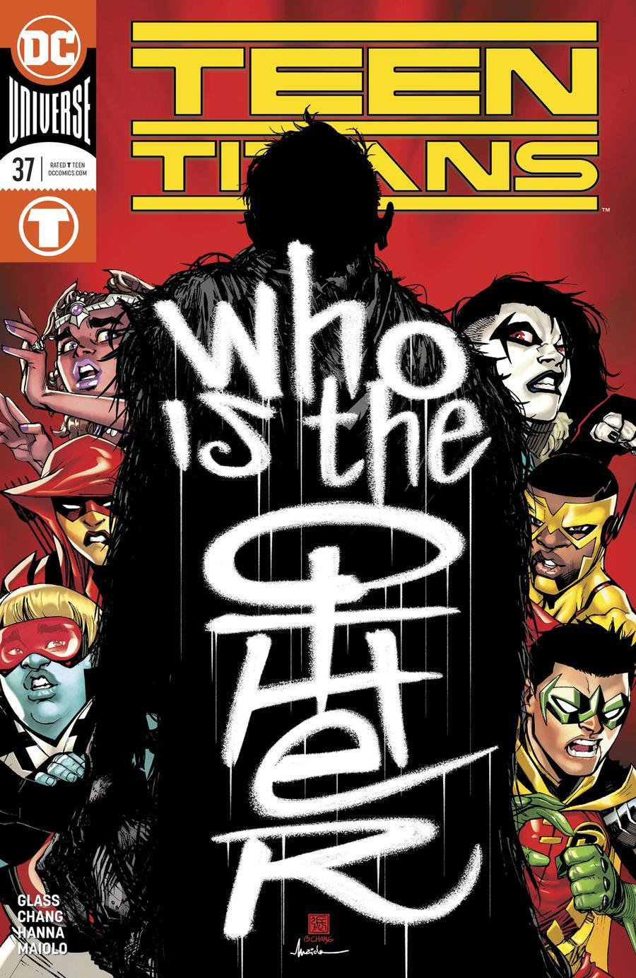 Teen Titans Vol 6 #37 Cover A Regular Bernard Chang Cover