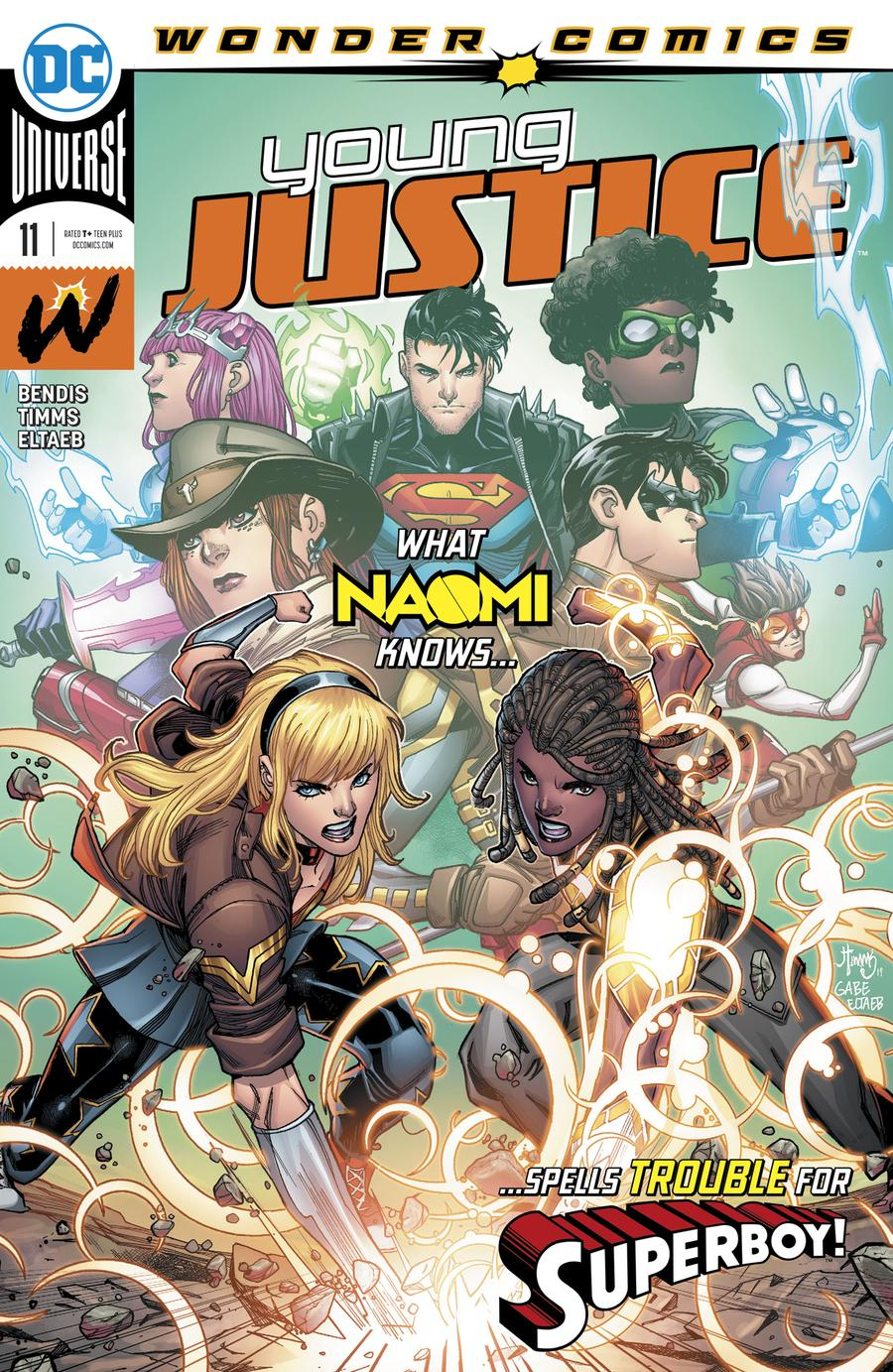 Young Justice Vol 3 #11 Cover A Regular John Timms Cover