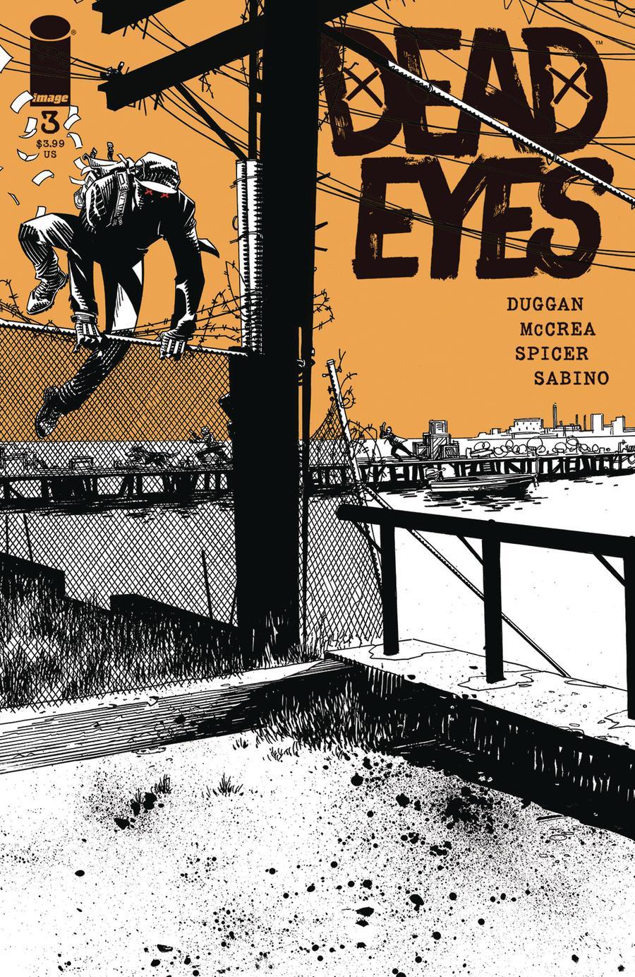 Dead Eyes #3 Cover A Regular John McCrea Cover