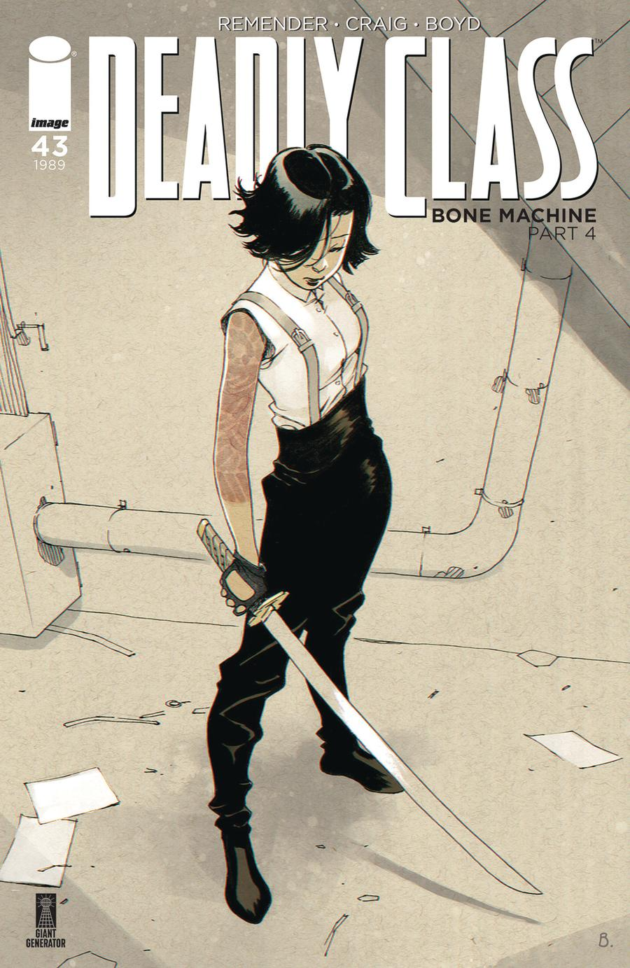 Deadly Class #43 Cover B Variant Bengal Cover