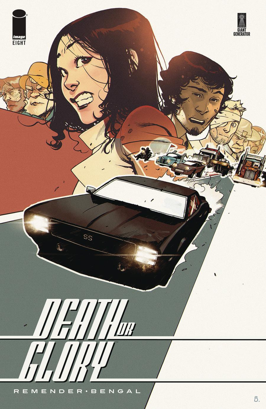 Death Or Glory #8 Cover A Regular Bengal Cover