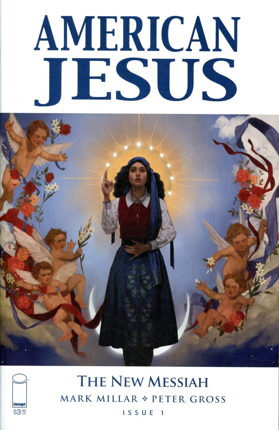 American Jesus New Messiah #1 Cover A Regular Top Secret Artist Cover