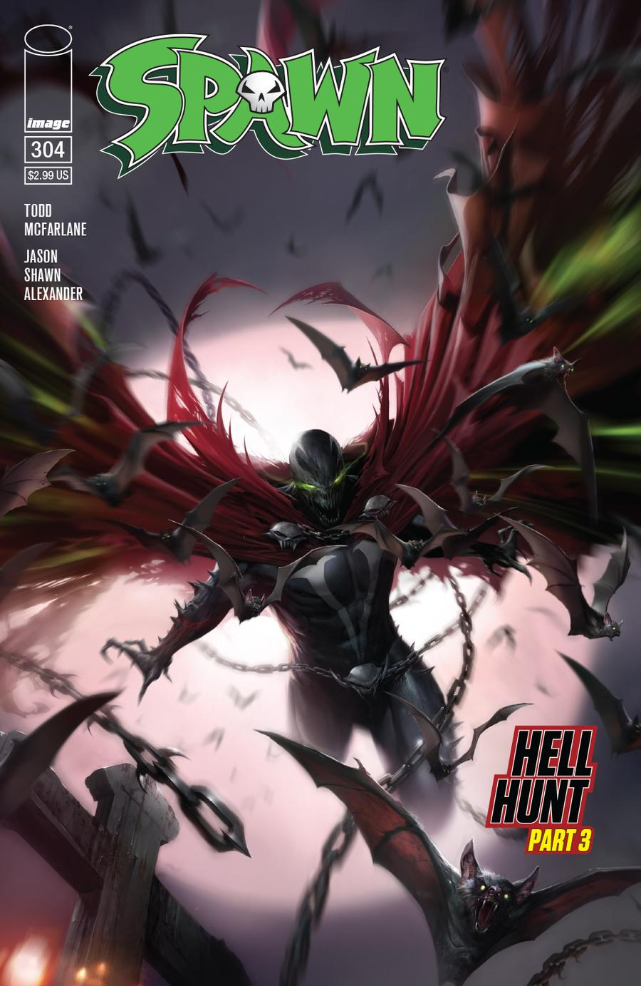 Spawn #304 Cover A Regular Francesco Mattina Cover