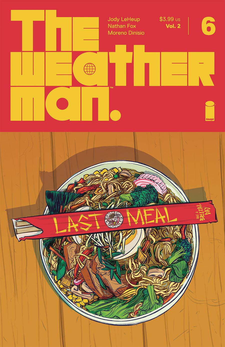 Weatherman Vol 2 #6 Cover A Regular Nathan Fox Cover