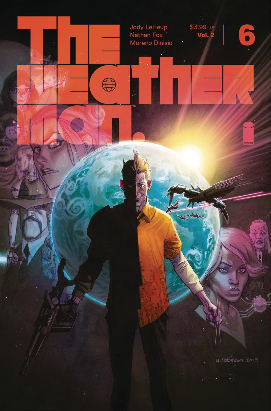 Weatherman Vol 2 #6 Cover B Variant Andrew Robinson Cover