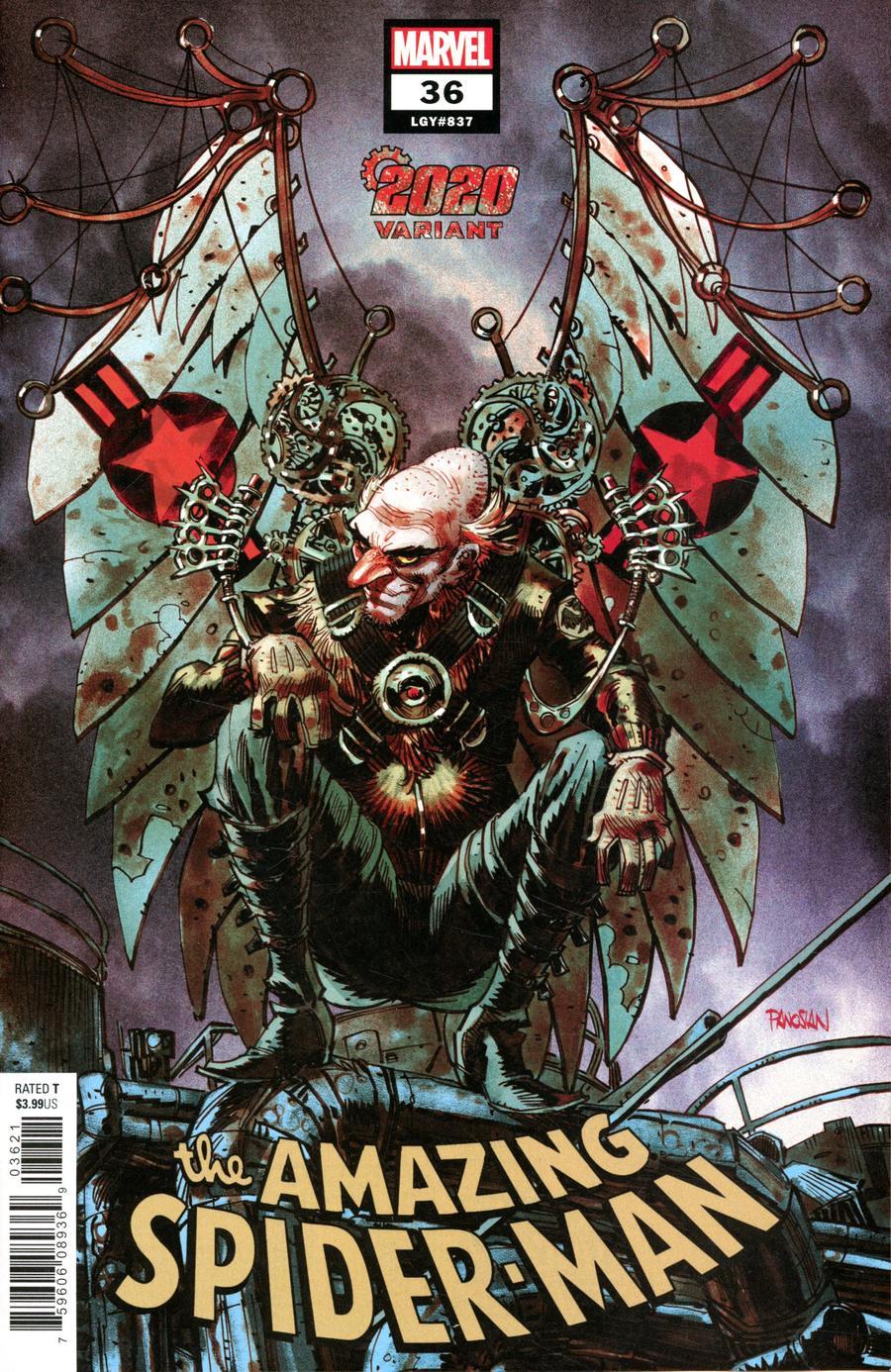 Amazing Spider-Man Vol 5 #36 Cover B Variant Dan Panosian 2020 Cover (2099 Tie-In)