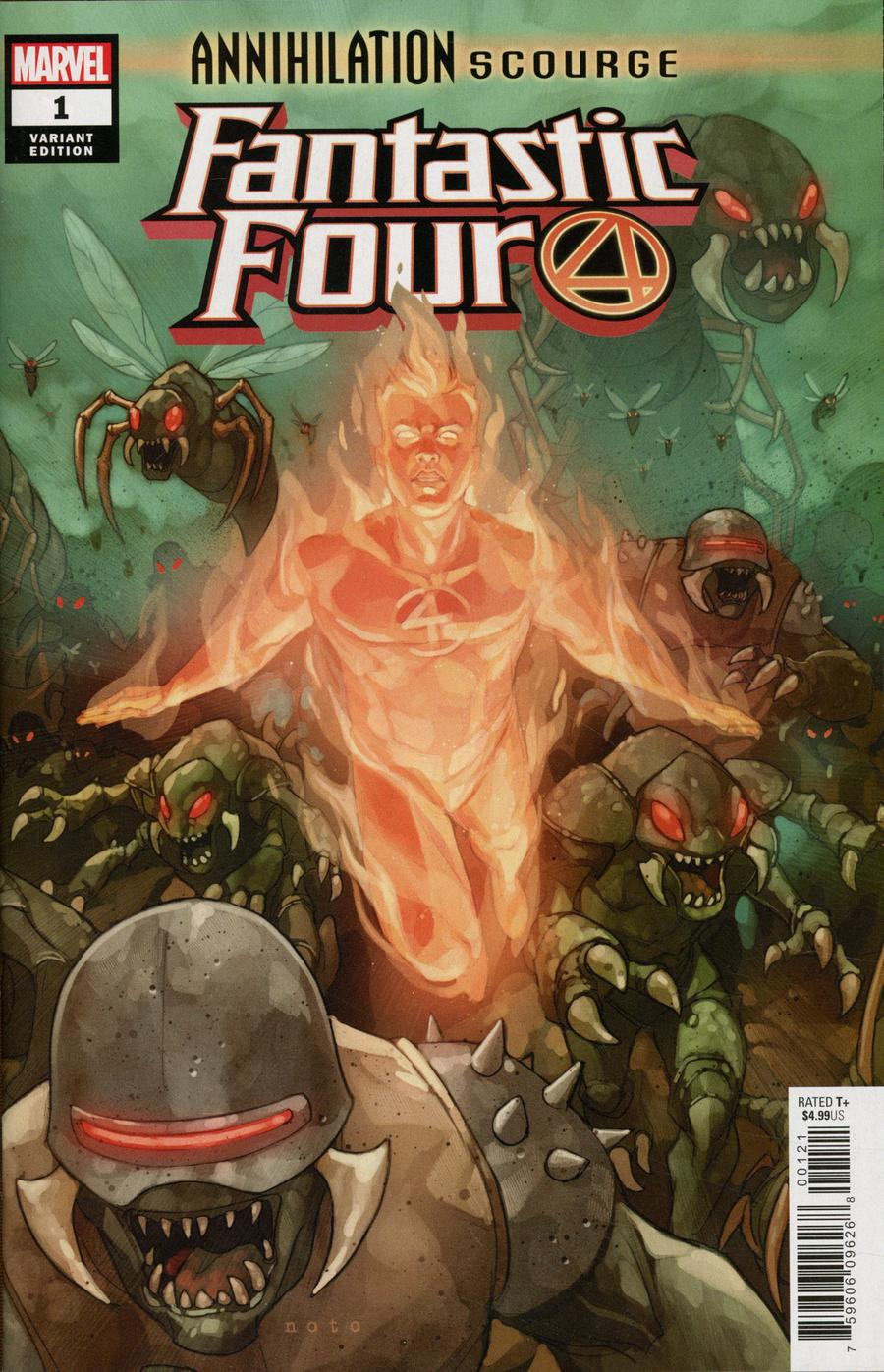 Annihilation Scourge Fantastic Four #1 Cover B Variant Phil Noto Cover
