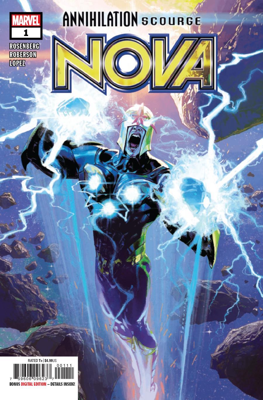 Annihilation Scourge Nova #1 Cover A Regular Josemaria Casanovas Cover