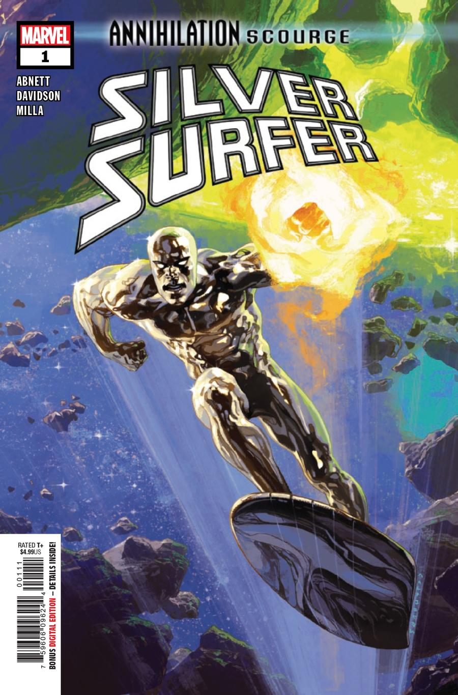 Annihilation Scourge Silver Surfer #1 Cover A Regular Josemaria Casanovas Cover
